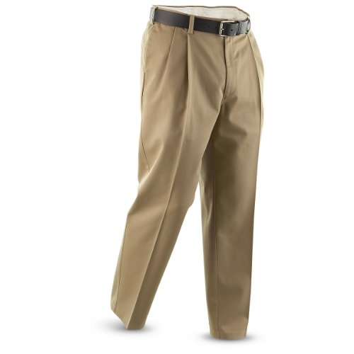 UPC 885344237257, Guide Gear Men's Pleated Pants, Khaki, W32 L29