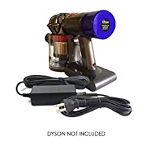 ABC Products Replacement Dyson Battery DC 26.10V / 780mA Charger Adapter Adaptor Power Supply Cord Plug and Cable for DC58, DC59, DC60, DC61, DC62, DC72, SV03, SV05 ERP, SV06, V6 Series, V8 Series Multi Floor / Handheld Cordless Vacuum Cleaner / Hoover etc