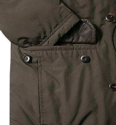 bugatti Herren Jacke Jack Mikrofaser modisches Langarmoberteil Unifarben, Größe: 54, Farbe: Grün