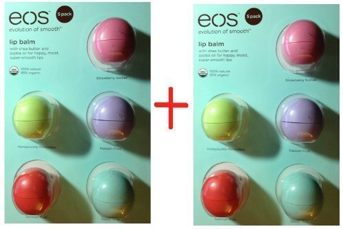 EOS Lip Balm - Pack of 10 (New) Darphin - Intral Soothing Cream - 200ml/6.7oz