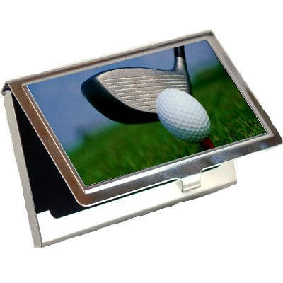 Amazon golf business card holder office products golf business card holder colourmoves