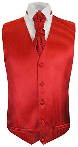 De Paul Malone Diseños Rojo amp; muchos Colores Chaleco Plastrón Boda wT11PUEq