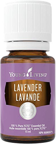 Lavender Essential Oil by Young Living, 15 Milliliters, Topical and Aromatic