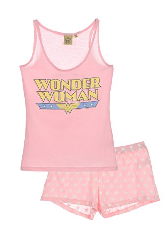 Woman Wonder Wonder Wonder Rosa Rosa Pigiama Pigiama Woman Donna Pigiama Woman Donna tSx085q0w