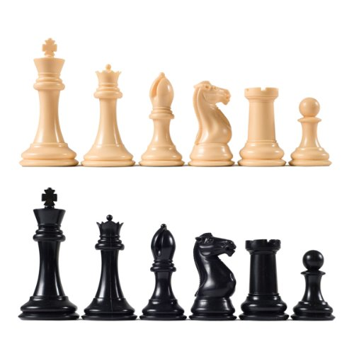 (Premier Tournament Chess Pieces with 4 1/8