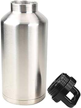 Ozark Trail Double Wall Stainless Steel Water Bottle (Silver)