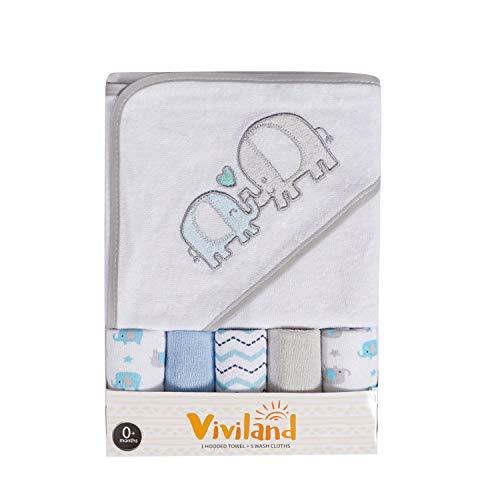 Viviland Washcloths Infants Newborn Absorption