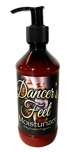 The Lotion Company Dancer's Therapeutic Hand and Feet Creme, Baby Powder, 8 Fluid -