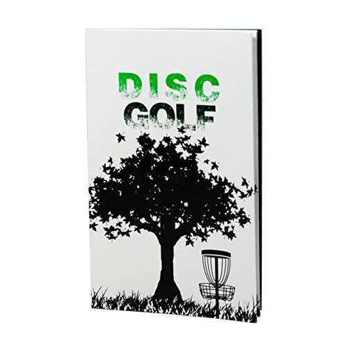 CardNoter Disc Golf Scorekeeper Notebook, 110 Rounds for 6 Players, Perfect ()