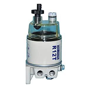 Filtro Combustible R12T Limpieza Aceite Agua Separación Duradero ...