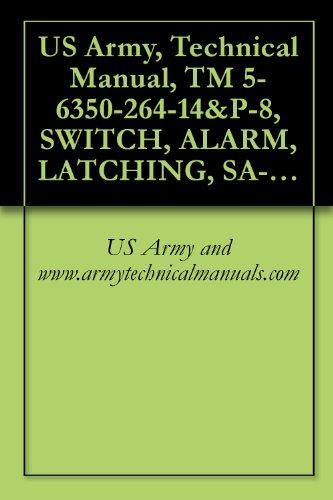 (US Army, Technical Manual, TM 5-6350-264-14&P-8, SWITCH, ALARM, LATCHING, SA-1954/FSS-9(V), NSN 6350-00-228-2510, {NAVELEX EE181-AA-OMI-090/E121 SA-1954)