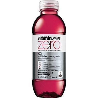 Vitamin Water Zero XXX Acai-blueberry Pomegranate 16.9 Oz (12 Pack)