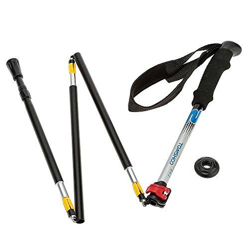 Aluminum Adjustable Hiking Stick - 9