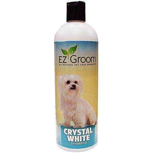 Ez Groom Crystal - E-Z Groom - Crystal White Enzyme Shampoo, 16 oz