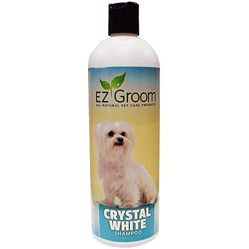 Shampoo Groom (E-Z Groom - Crystal White Enzyme Shampoo, 16 oz)
