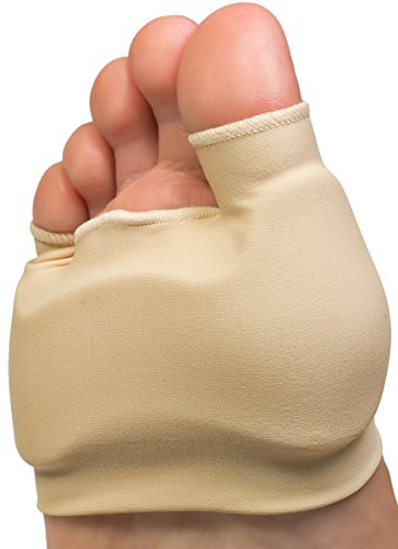 NatraCure Dual Bunion Gel Sleeve w/Forefoot Cushion (One Piece) - (1298-MC CAT) - Size: Small/Medium