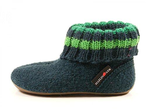 Haflinger Everest Pablo - Zapatillas de casa Unisex niños Grün