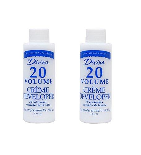 Divina Creme - (PACK OF 2) DIVINA 20 Volume Creme Developer, 8oz