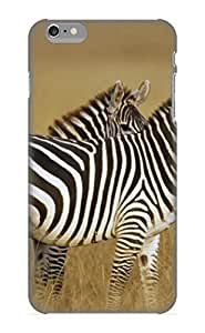 Inthebeauty Premium Protective Hard Case For Iphone 6 Plus- Nice Design - Zebra Picture