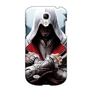 AshtonWells Samsung Galaxy S4 Mini Shock Absorbent Hard Phone Case Customized Trendy Assassins Creed Bro Skin [XXP13113GHdO]