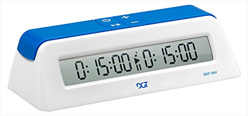 DGT1001 Universal Chess Clock and Game Timer - White - Chess Clock