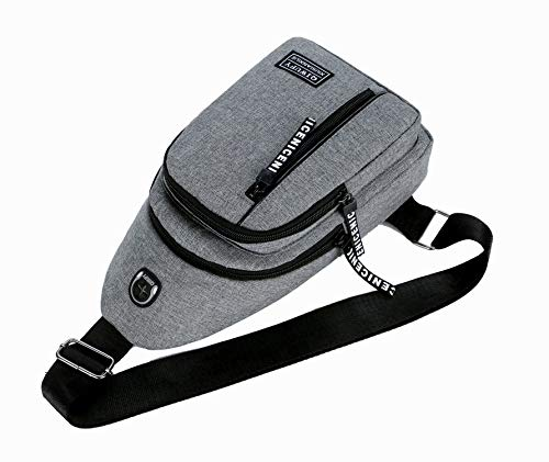 Oxford De Hommes Bandoulière Sac gris Dos Pour Décontracté Mode Shanzwh Air Sports Multifonction À Plein zpIfnqq