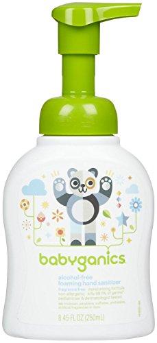 Babyganics Germinator Hand Sanitizer - Fragrance Free - 8.45