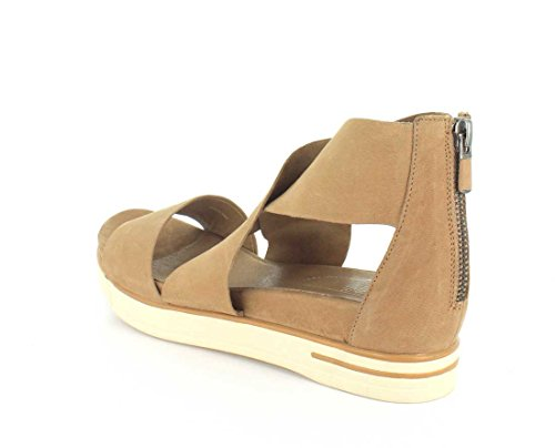 Eileen Fisher Womens Sport-nu Sandalo Flat Tan