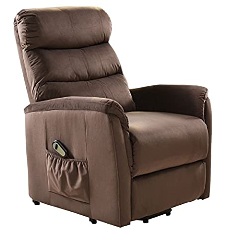 Giantex Recliner Power Lift Chair Easy Comfort Recliner Living Room Furniture with Remote - Free Lift Chairs