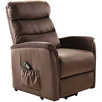 Giantex Recliner Power Lift Chair Easy Comfort Recliner Living Room Furniture with Remote  sc 1 st  Amazon.com : coaster power lift recliner - islam-shia.org
