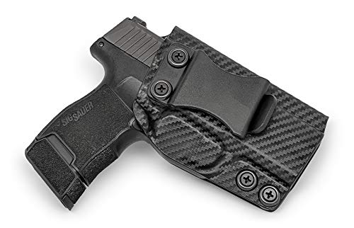 Concealment Express IWB KYDEX Gun Holster: fits Sig Sauer P365 - Custom Molded Fit - US Made - Inside Waistband Concealed Carry Holster - Adj. Cant & Retention (Best Us Made Pistol)