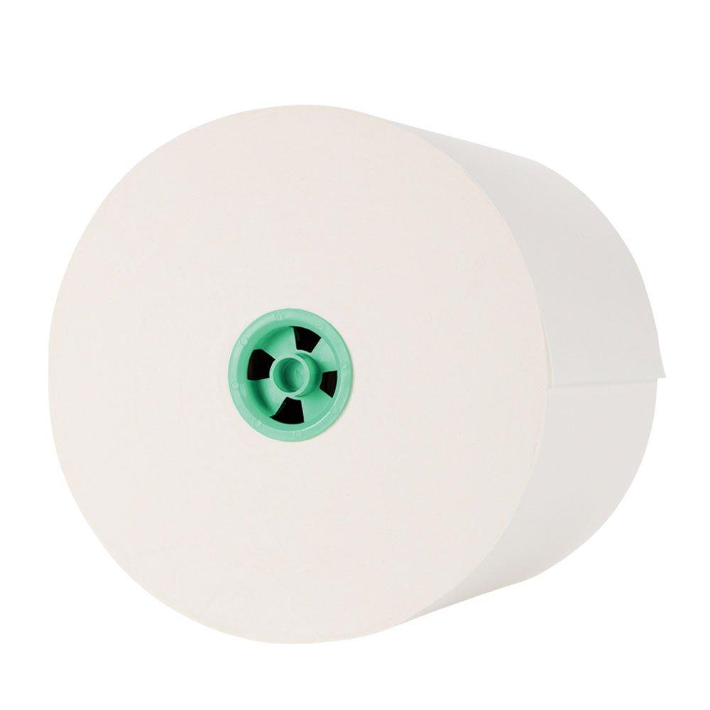 Kimberly-Clark Kleenex 25630 Hard Roll Towel, 700' Length x 7-1/2'' Width, Green/White (Case of 6)