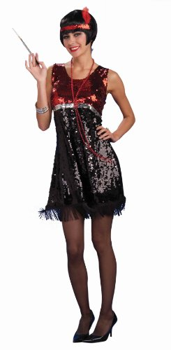 20s Razzle Dazzle Flapper Adult Halloween Costume Size Standard