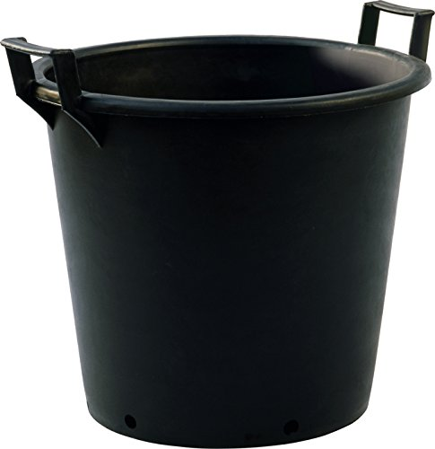 50 Litre Plastic Plant Pots (Heavy Duty with handles) Pack of 5 (a975) IDEL