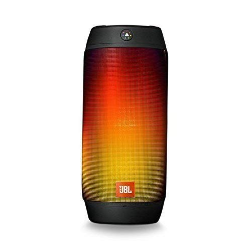 JBL Pulse 2 Portable Splashproof Bluetooth Speaker, Black