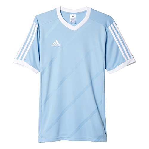 adidas Big Boys Climacool Regista 14 Soccer Jersey Clear Blue|White