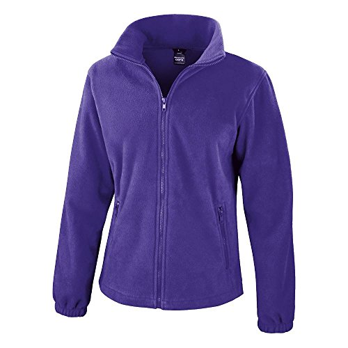 Result: Womens Fashion Fit Outdoor Forro Polar r220 F morado