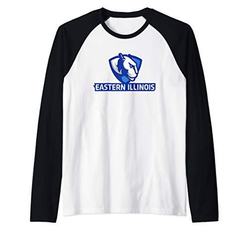 Eastern Illinois Panthers University NCAA PPEIU02 Raglan Baseball Tee