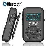 Bluetooth MP3 Player PIIWI Sporter 8GB Clip Sport Portable Lossless Sound Hi-Fi Music