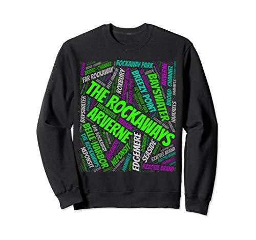 Far Rockaway beach queens new york city Sweatshirt]()