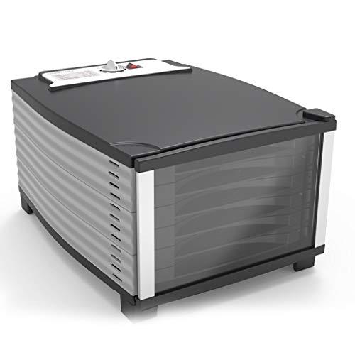 Deshidratador de alimentos - El control de la temperatura de la zona de deshidratación es de 84.2-158 ℉, 6 estantes ajustables en altura, ...