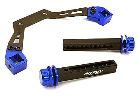 C27175GUN Integy Magnetic Force Body Mounts for SCX-10 /& SCX10-II w//5.75mm Posts