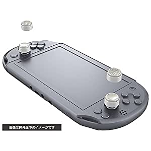 Cyber ? Analog Stick Cover High Type (For Ps Vita) White