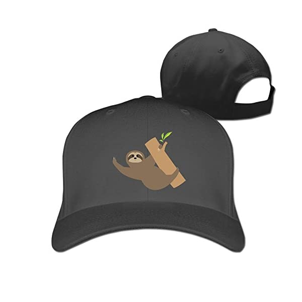 Peak Sloth Yoga Hats For Woman -