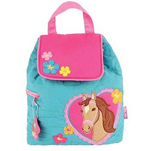 Stephen Joseph Quilted Backpack (Girl - Joseph Zoo Stephen
