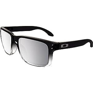 Oakley Men's Holbrook Polarized Iridium Square Sunglasses, Dark Ink Fade, 57.0 mm