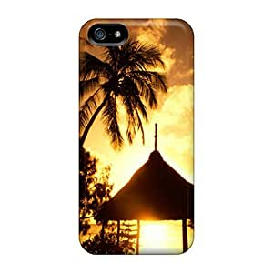 Hot Snap-on Sunset Hard Covers Cases/ Protective Cases For Case HTC One M7 Cover