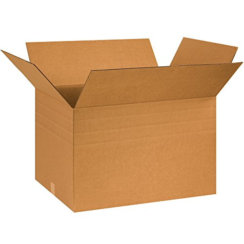 Tape Logic TLMD261816 Multi-Depth Corrugated Boxes, 26