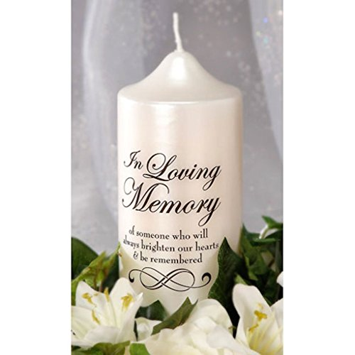 Bulk Buy: Darice DIY Crafts Victoria Lynn in Loving Memory Candle Decal 3 x 3.5 inches (3-Pack) VL5880