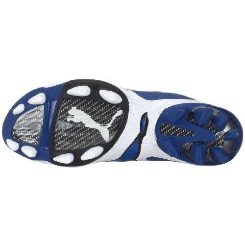 Puma v1.08I FG Jr 10150210, unisex–Niños Sport–Guantes de fútbol, color azul Azul - blau (newteamroyal-white-black10)